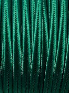 Piattina Soutache Rayon 3mm Misura:1mt Colore :Verde Intenso Art: S53