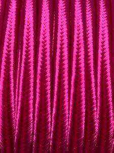 Piattina Soutache Rayon 3mm Misura:1mt Colore :Fuxia Art: S59