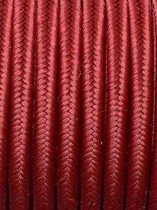 Piattina Soutache Rayon 3mm Misura:1mt Colore :Rosso Marsala Art: S69