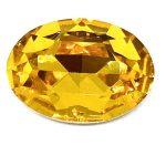 Ovale in cristallo 18x13 Quantità 2 pezzi Colore Topaz Articolo 241