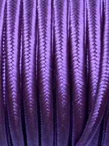 Piattina Soutache Rayon 3mm Misura:1mt Colore :Viola Ametista Art: S51