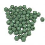 Perle in vetro Misura: 4mm Colore :Fiesta Hartford Green Art: P120