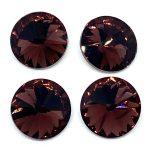 Rivoli cristallo 14mm 4 pezzi Colore Amethyst Art 359